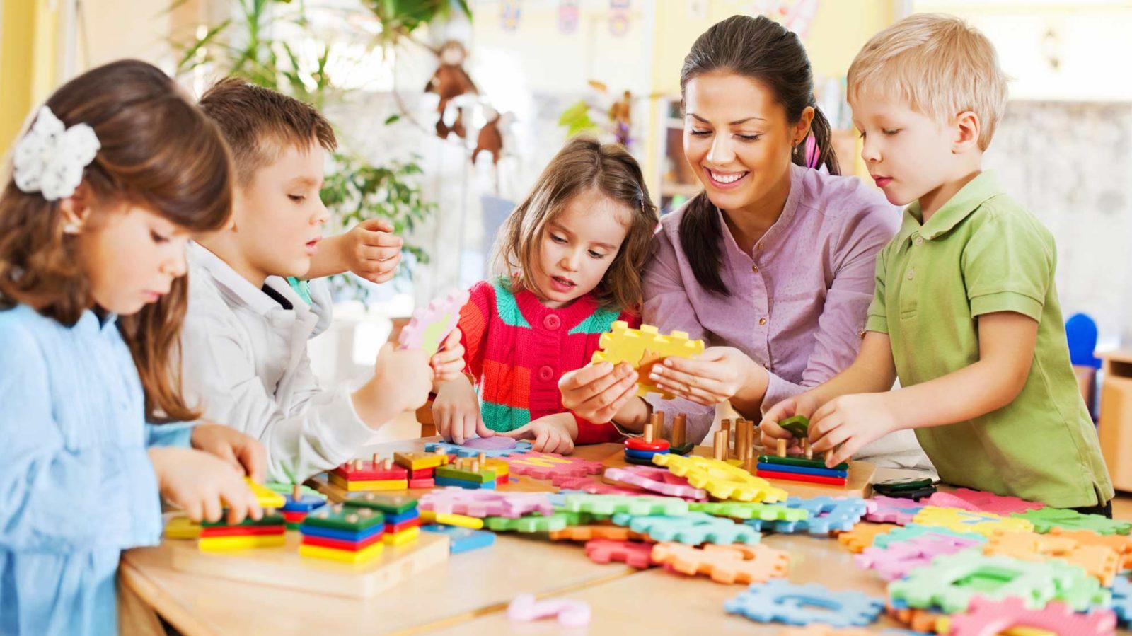 Тему, картинки дети в доу с воспитателем
